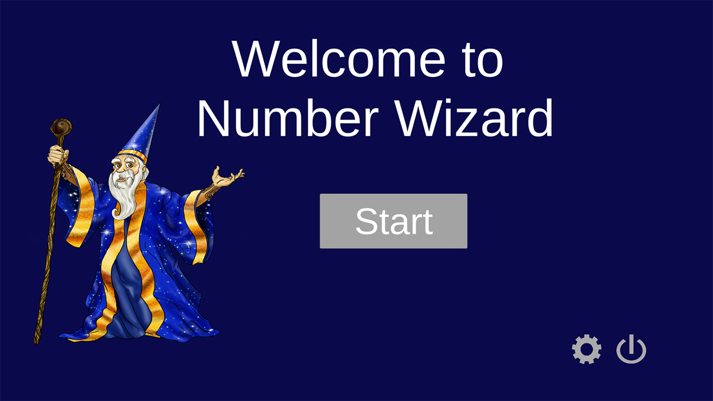 NumberWizard game photo